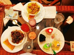 Delicious food at 'Cafe Doo Ghoont'